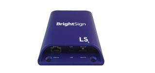 Image sur Diffuseur HD BrightSign LS424