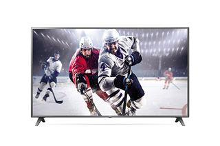 Image sur Écran 4K LG série UU340C